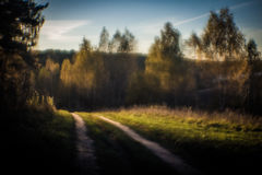 Camino monocle imagen de archivo