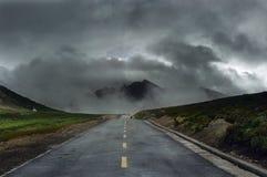 Camino nacional Imagen de archivo