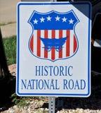 Camino nacional histórico fotos de archivo libres de regalías