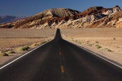 Camino negro Foto de archivo libre de regalías
