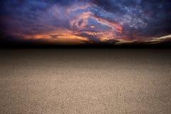 Camino oscuro Fotografía de archivo