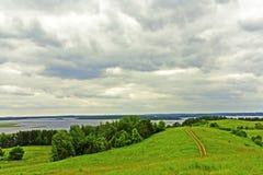 Camino ountry del ¡de Ð al lago fotos de archivo libres de regalías