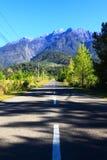 Camino para montar Kinabalu Imagen de archivo