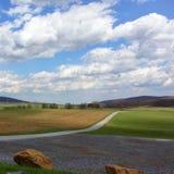 Camino pastoral Imágenes de archivo libres de regalías