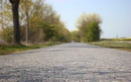 Camino pavimentado Imágenes de archivo libres de regalías
