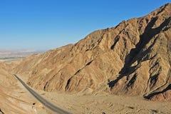Camino Perú foto de archivo libre de regalías