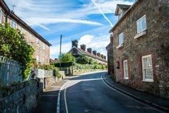 Camino PetWorth Sussex del oeste Reino Unido de la aldea Foto de archivo