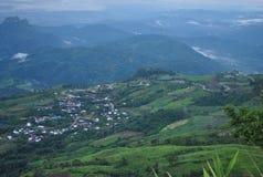 Camino Phu Tubberk Phetchabun Tailandia de la montaña fotografía de archivo