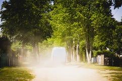 Camino polvoriento foto de archivo