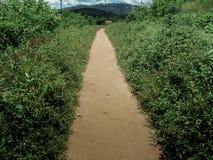 Camino polvoriento al norte Fotografía de archivo