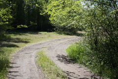 Camino que lleva a casa Imagen de archivo libre de regalías