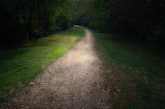 Camino que recorre Fotografía de archivo