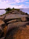 Camino rocoso Fotos de archivo