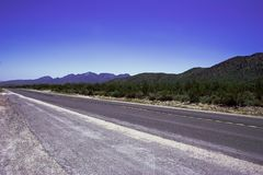 Camino romántico vacío foto de archivo