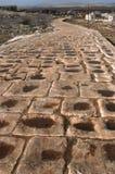 Camino romano Siria Imagen de archivo libre de regalías
