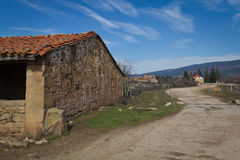Camino rural Royalty Free Stock Photography