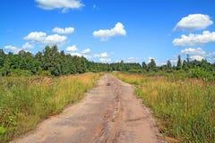 Camino rural de envejecimiento Fotografía de archivo