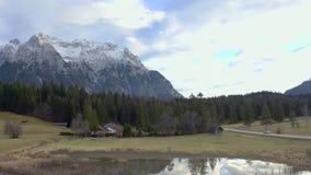 Camino rural de la montaña almacen de video