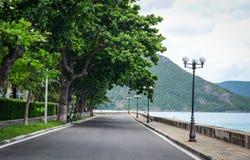 Camino rural en la estafa Dao Island Foto de archivo