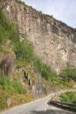 Camino rural en Noruega Imagen de archivo