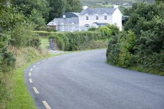 Camino rural, Killarney Foto de archivo