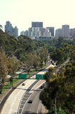 Camino a San Diego, California Imagen de archivo libre de regalías