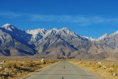 Camino a Sierra Fotografía de archivo libre de regalías