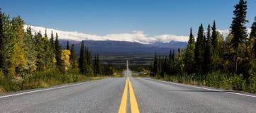 Camino sin fin Foto de archivo