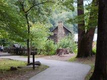 Camino a través de las maderas Imagen de archivo libre de regalías