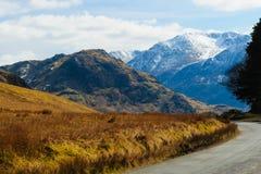 Camino a través del valle de Buttermere Fotografía de archivo libre de regalías