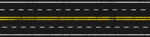 Camino usado Imagen de archivo libre de regalías