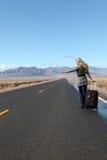 Camino vacío Foto de archivo libre de regalías