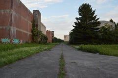 Camino vacío Fotografía de archivo