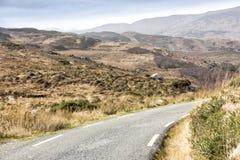 Camino vacío Irlanda 0010 Fotos de archivo
