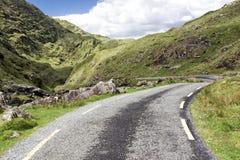 Camino vacío Irlanda 0025 Imágenes de archivo libres de regalías