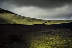Camino verde Imágenes de archivo libres de regalías