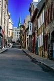 Camino viejo de la ciudad Fotos de archivo libres de regalías