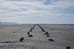 Camino viejo del embarcadero Fotografía de archivo