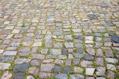 Camino viejo del guijarro como fondo Foto de archivo