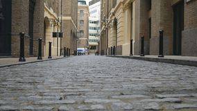 Camino viejo hecho de piedra