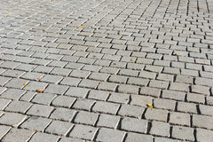 Camino viejo pavimentado Imagen de archivo libre de regalías