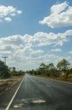 Camino y cielo Fotografía de archivo libre de regalías