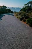 Camino y montaña Fotografía de archivo libre de regalías