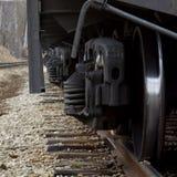 Camino y tren ferroviarios p4 Imagenes de archivo
