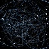 Caminos ópticos Ilustración del Vector