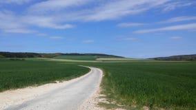 Caminos de Francia Imagen de archivo libre de regalías
