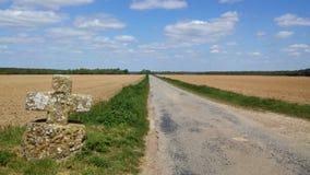 Caminos de Francia Foto de archivo