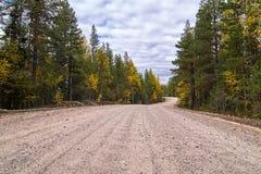 Caminos de Karelia Imágenes de archivo libres de regalías