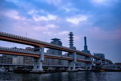 Caminos de Kobe fotos de archivo
