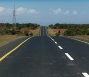 Caminos de la África Imagenes de archivo